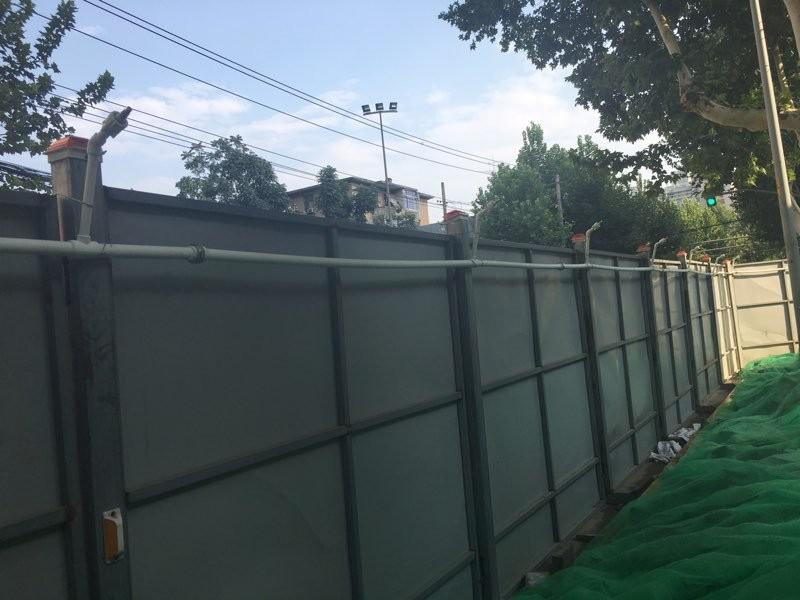 西安小寨海绵城市ppp道路围栏万博体育app登录项目