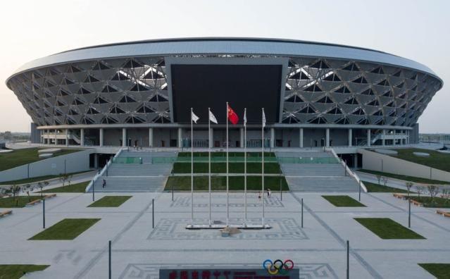 咸阳奥体中心体育场弱电万博官方网站manbetx集成