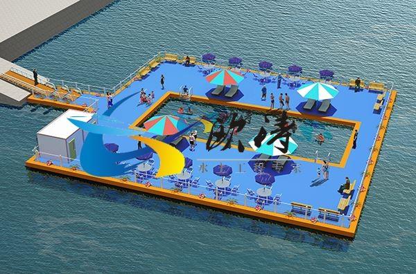 浮动游泳池