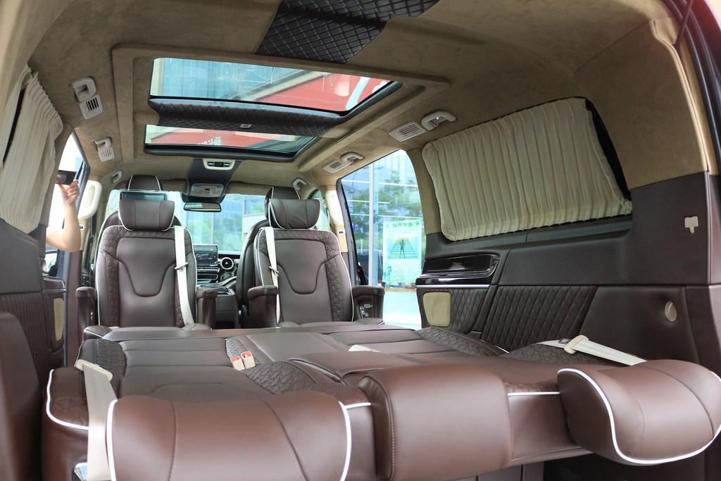 奔驰|v-class商务车巧克力棕