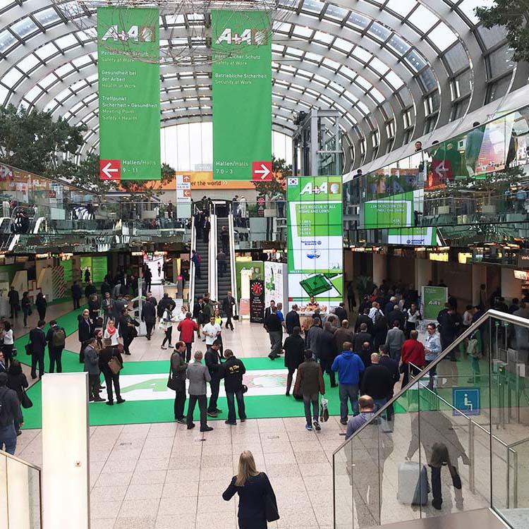 2015德国杜塞尔多夫工业安全及健康展览会A+A