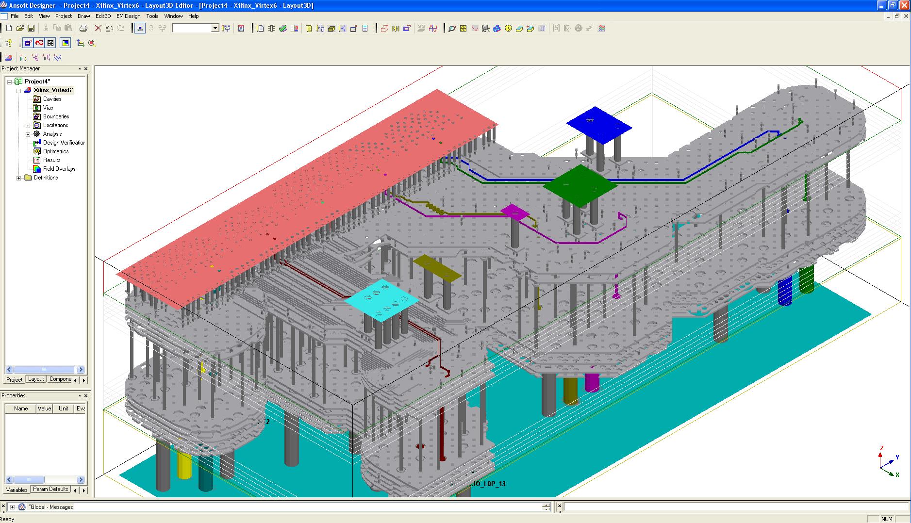 MCAD的AnSoftLink从机械CAD软件包中传输三维几何图形