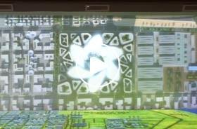 埃及苏伊士合作区展厅规划L幕投影数字沙盘