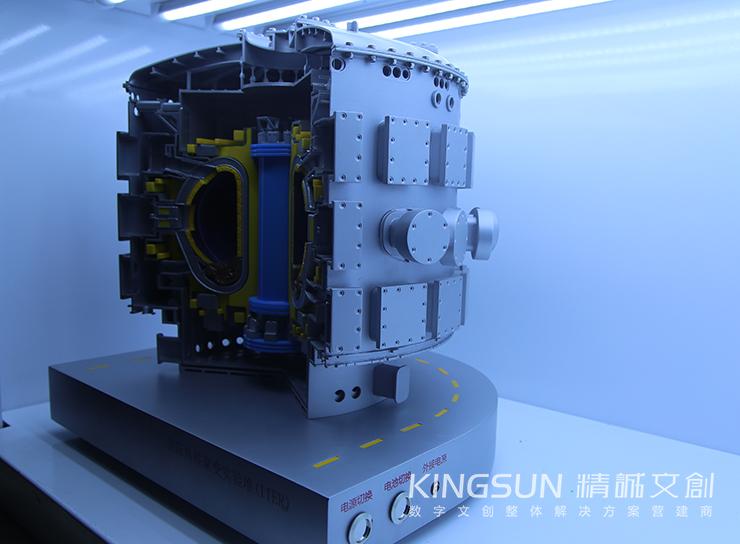 2017阿斯塔纳世博会中国馆ITER核聚变模型