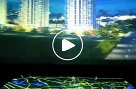 深圳十二橡树庄园投影联动弧幕数字沙盘