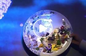 沉浸式3D投影餐厅