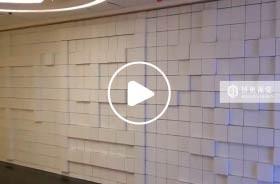 矩阵墙面投影之常州广电企业展厅