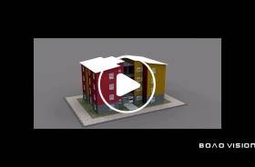 装配式建筑动画全过程