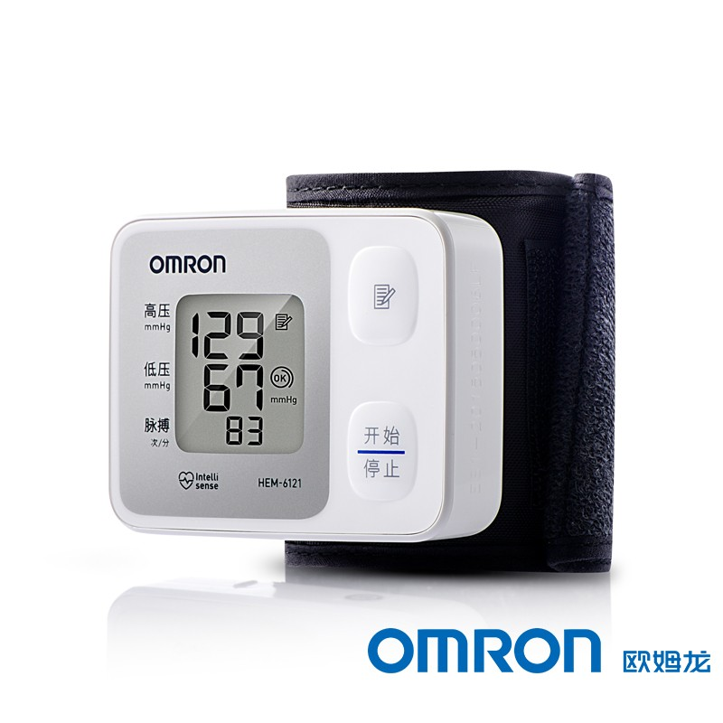 欧姆龙  电子血压计