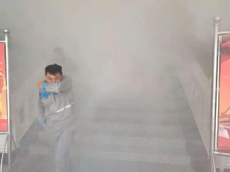 遵义市汇川区海螺盘江水泥有限公司开展消防安全宣讲演练活动