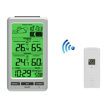 FT0800 Wireless Weather Station with Bright Backlight
