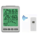 FT0100 Wireless Weather Station with Colorful Backlight