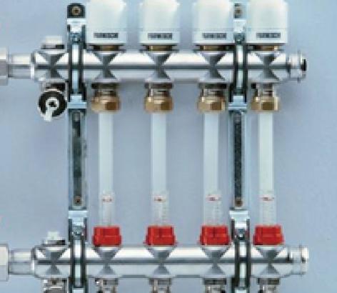 自动温控分集水器