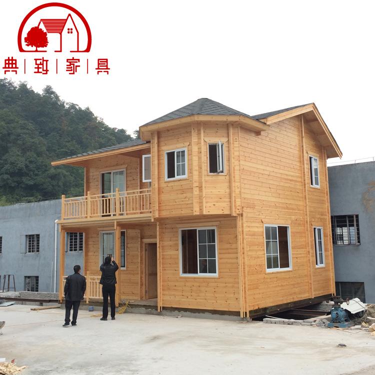 三门双层木屋