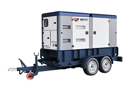 康发移动拖车型柴油发电机组