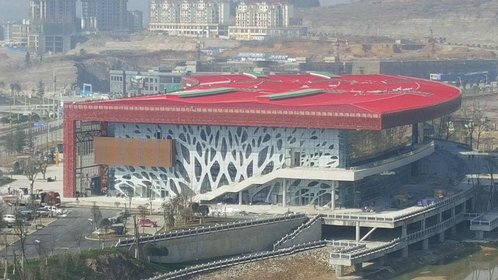 贵州湄潭茶博会展中心