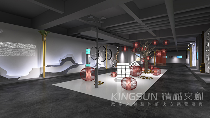 四川华体照明企业展厅