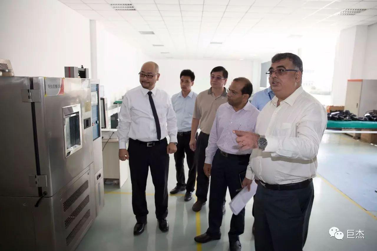印度第二大汽车企业Mahindra到访巨杰机电,到底是为哪般?