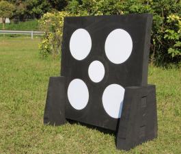 60*60*5cm  Black  stand EVA foam archery target shooting target
