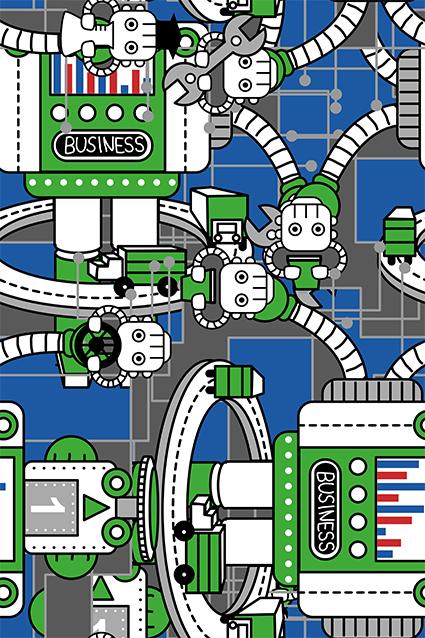智能卡通原件机器人