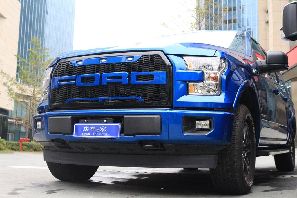 福特|勇猛者F150寶藍外觀