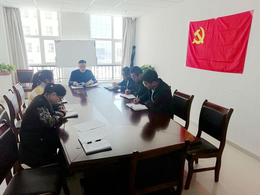 甘肃国通党支部开展1月份主题党日活动