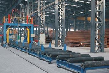 ZUZB-1200 U型箱型组立一体机箱型梁(BOX)焊接生产流水线