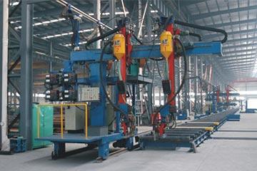 XMHJ-1200箱型柱悬臂式焊机箱型梁(BOX)焊接生产流水线