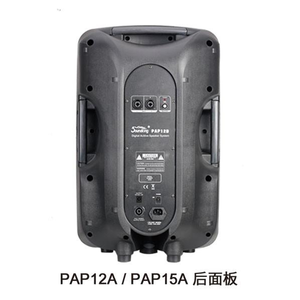 PAP12/PAP15 后面板