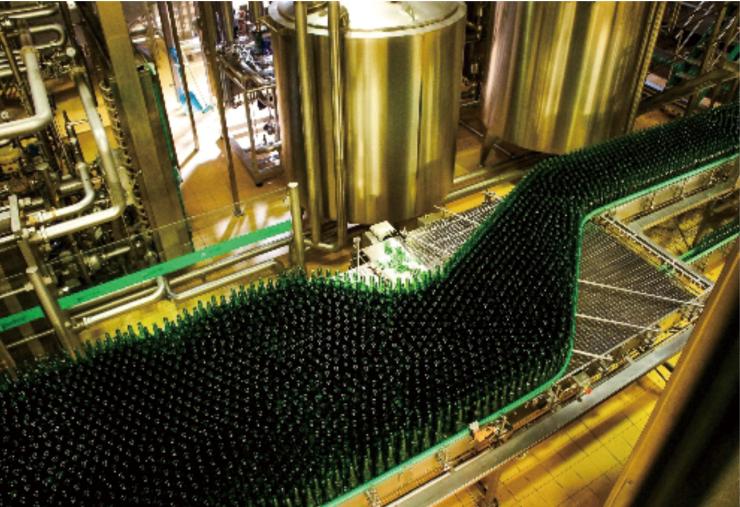 金威啤酒厂机房工程