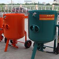 AC系列简易手动喷砂罐