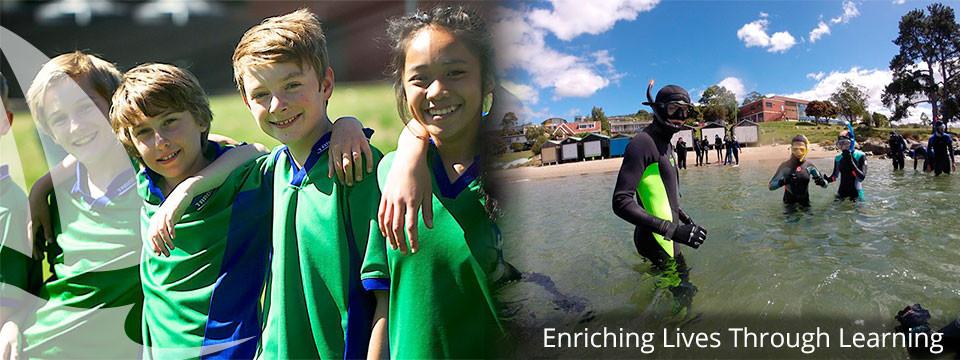 邵同学跳级申请澳大利亚塔斯马尼亚地区公立中学
