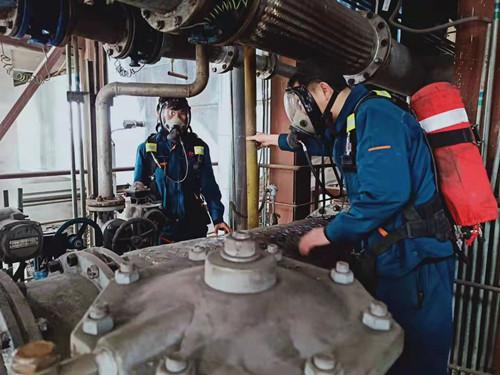 奥福集团组织煤气泄露事故演练