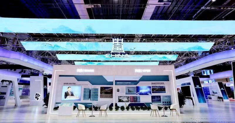 进口博览会共承接近4000㎡的展位设计搭建及运营服务