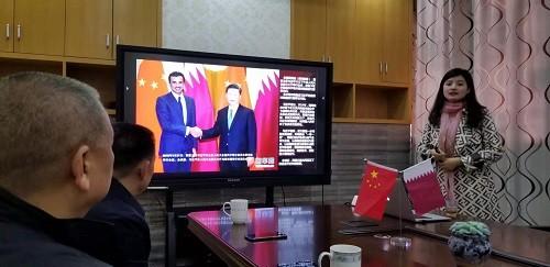 张远鹏董事长考察中国—卡塔尔商业中心