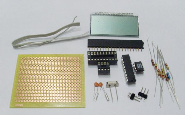 怎样用单片机IO口直接驱动段码LCD液晶屏