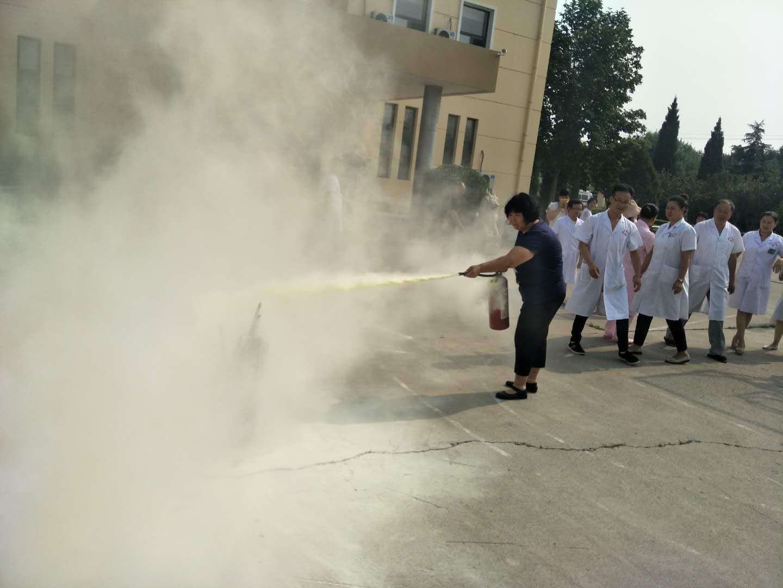 石家庄燕郊辅仁医院开展消防安全宣讲活动