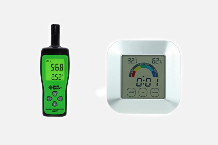 温湿度计LCD
