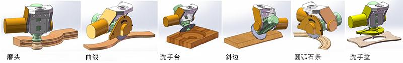 YD-3020五軸橋式切割機(標準型)