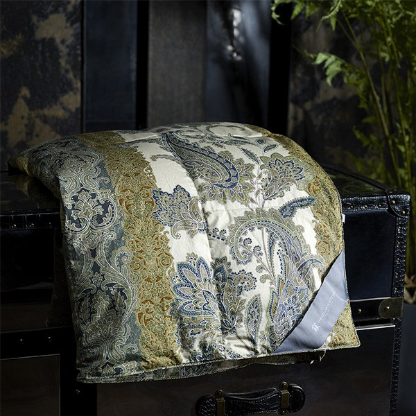 Shu xiang jun ting Yang (blue) goose down light quilt