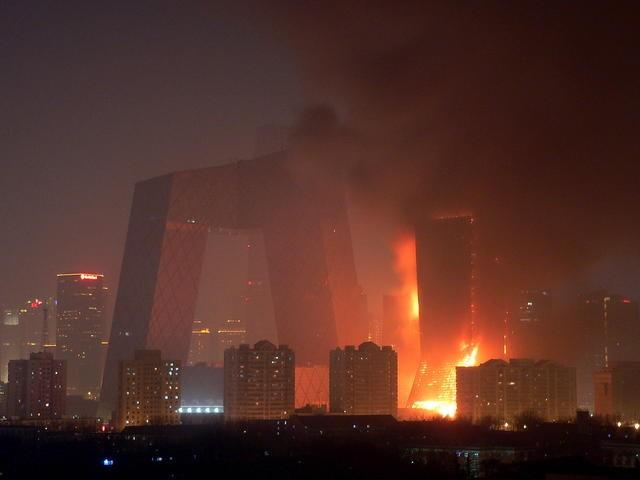 高层建筑火灾