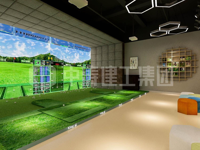 室内高尔夫球馆