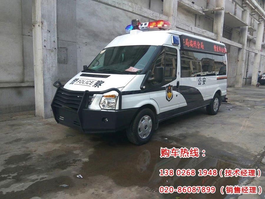 肇庆市公安局端州分局防暴冲锋(运兵)车成功交付