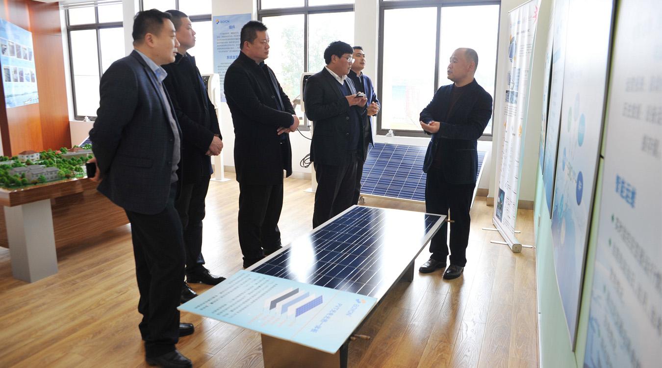 邳州市经济技术开发区考察团到博阳考察交流