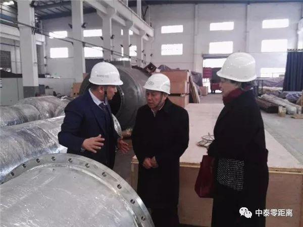 中泰交流 | 中泰集团党委书记、董事长王洪欣一行赴重庆博张机电设备公司考察调研