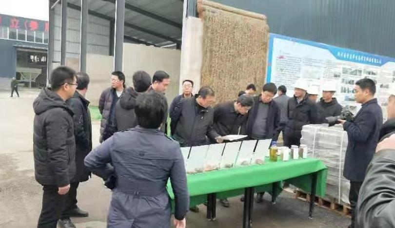 国务院研究室副主任杨书兵一行莅临我司淅川产业扶贫公司调研