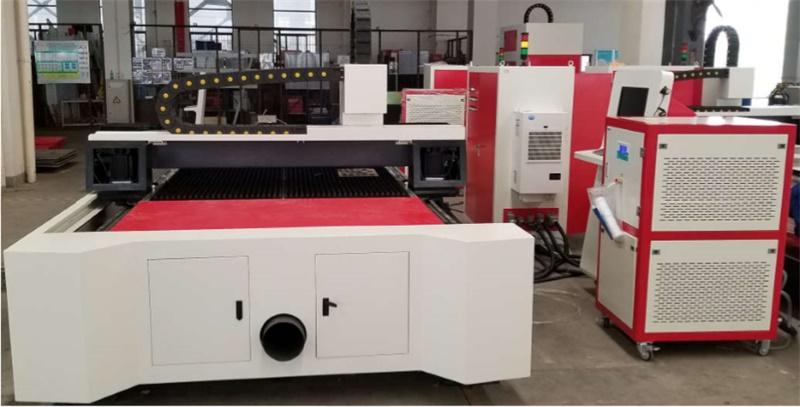 東元伺服電機應用在激光切割機上
