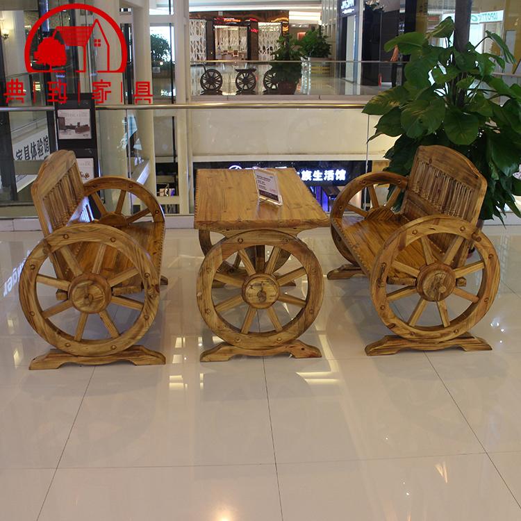 松木双人车轮椅