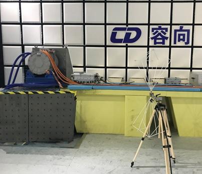 新能源汽车电机加载EMC测试