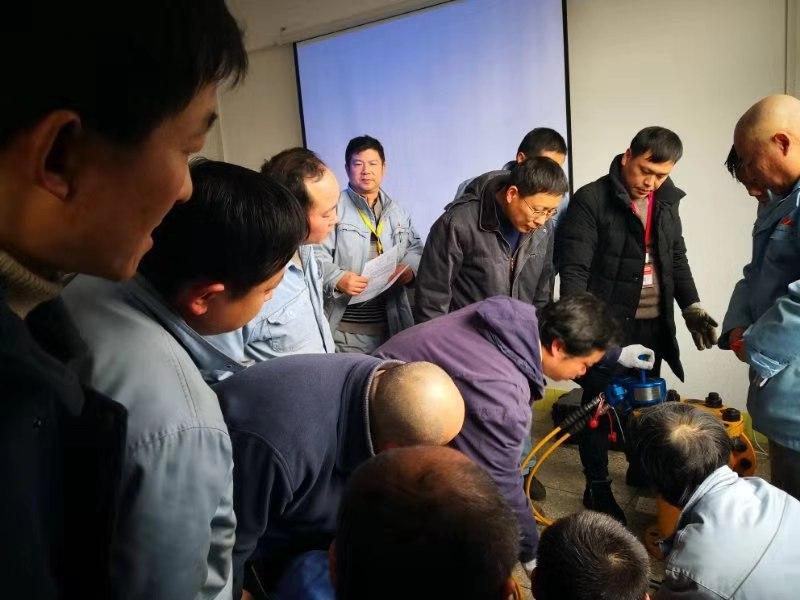 武汉检安石化现场培训